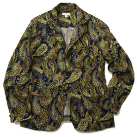 Engineered Garments - Baker Jacket,Navy Paisley