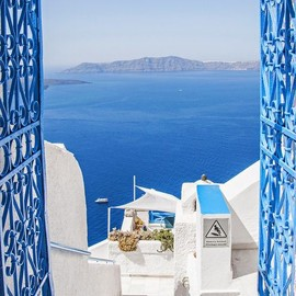 Greece - from window