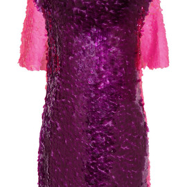 HOUSE OF HOLLAND - Paillette-embellished tulle mini dress