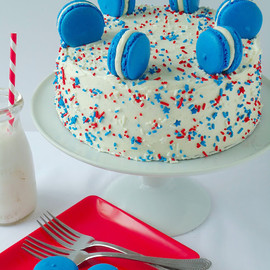 Blahnik Baker - red white and blue cake