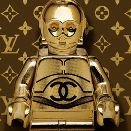 "Dale May ""Lego Wars"" Exhibition - C-3PO"