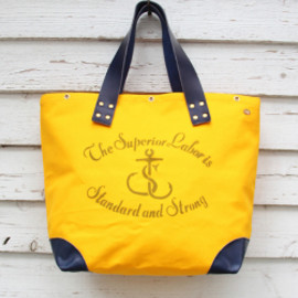 "The Superior Labor - ""Market Bag""(Yellow)"