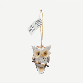 THE CONRAN SHOP - NATURAL/CONE OWL DEC