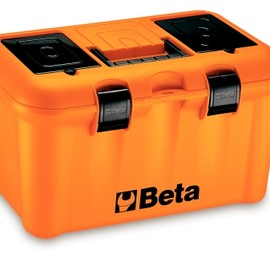 Beta - Plastic Portable Work Tool Box Case with Tote Tray C15