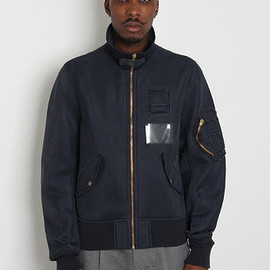 KOLOR - BOMBER FLIGHT JACKET