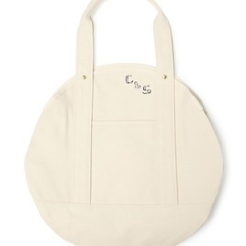 COSMIC WONDER Light Source - CLS CIRCLE TOTE BAG - BASIC ITEM / MEDIUM SIZE / NATURAL