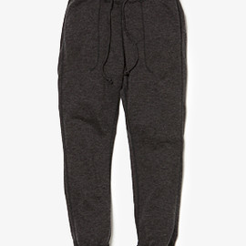 nonnative - OFFICER EASY RIB PANTS W/A STRETCH JERSEY