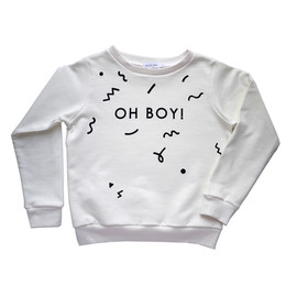 oh my kids - OH BOY sweatshirt off white