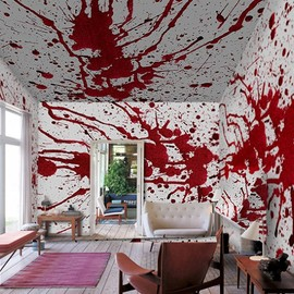 Blood Bath Wallpaper Murals Inspired by Roman Polanski
