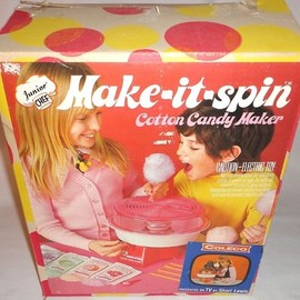 COLECO - Make-It-Spin Cotton Candy Maker