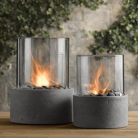 Restoration Hardware - Laguna Concrete Fire Column