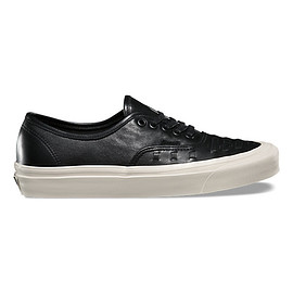 VANS - Leather Authentic Weave DX
