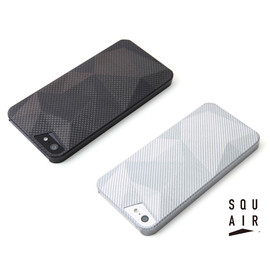 SQUAIR - Carbon Shell Case for iPhone5s/5