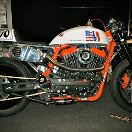 Laurent Dutruel(Zen Motorcycles) - HARLEY-DAVIDSON XR1200 Turbo