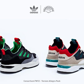 "adidas originals - Consortium ""TORSION ALLEGRA PACK"""