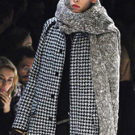 DIOR HOMME - 07A/W Wool Stole