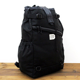 FREDRIK PACKERS - STROLL BACKPACK(M) BLACK x BLACK