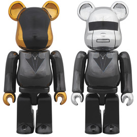 MEDICOM TOY - DAFTPUNK(RandomAccessMemoriesVer.)BE@RBRICK 100%【2014年11月発売・発送予定】