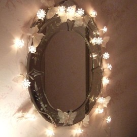 Fairy lights mirror☆