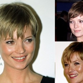 Kate Moss - Kate Moss short hairstyles