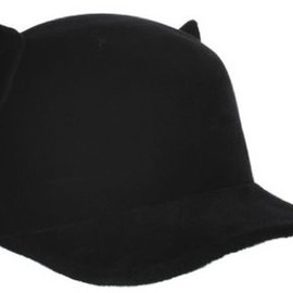 "GIVENCHY - Black Givenchy ""Cat"" Cap"