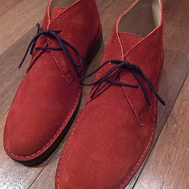 "Brooks Brothers - ""PEAL"" Desert Boots"