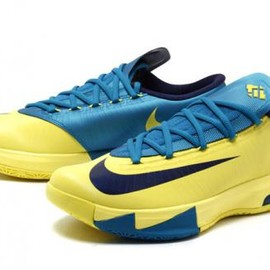 Nike - NIKE KD VI SONIC YELLOW/MID NAVY-TORPICAL TEAL
