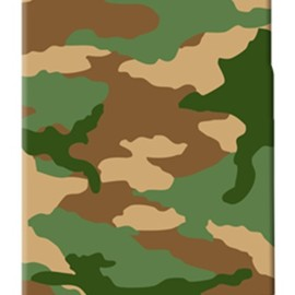 SECOND SKIN - ウッドランド迷彩 TYPE5 / for  iPhone 4S/SoftBank