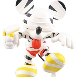 MEDICOM TOY - ヴァイナルコレクティブルドールズ No.121 VCD MICKEY MOUSE MUMMY Version