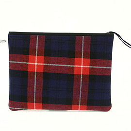 Pijama - Pocket L (tartan 10 blue red)