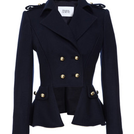 Prabal Gurung - Double Breasted Wool-Blend Jacket
