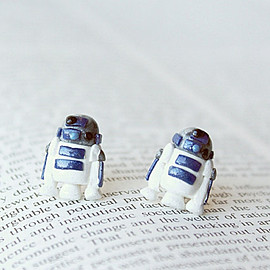 star wars - R2D2 Droid Star Wars Earrings