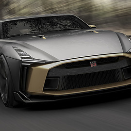 Nissan - Nissan GT-R50 by Italdesign