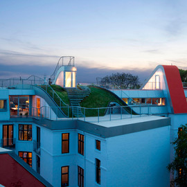 JDS Architects - Hedonistic Rooftop Penthouses