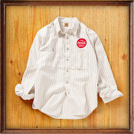 Coca-Cola, Human Made, BEAMS - WORK SHIRT