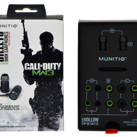 Bullets 9mm earbuds by MUNITIO