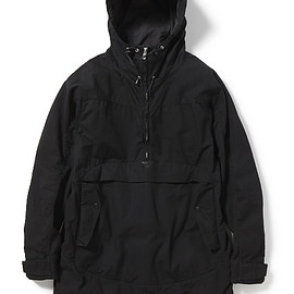 nonnative - STROLLER HOODED PULLOVER COTTON RIPSTOP