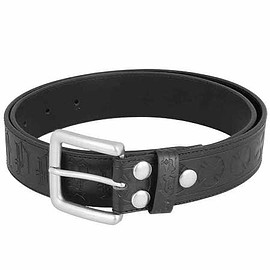 INDEPENDENT - INDEPENDENT AVE CROSS LEATHER BELT