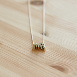 bamboo grass mountain - Necklace
