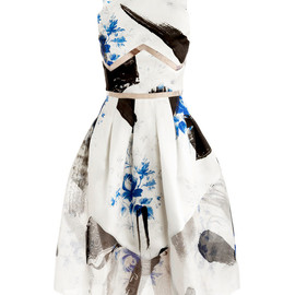 CHRISTOPHER KANE - Dutch-print Princess dress