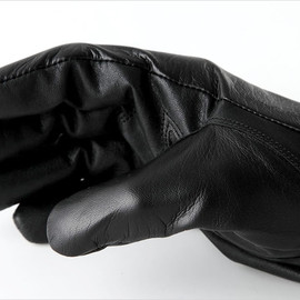 Picnic - Itouch Gloves BLACK SOLID LEATHER