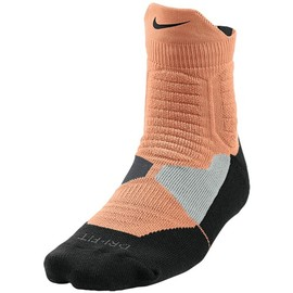 Nike - Hyperelite High Quarter Socks - Atomic Orange/Anthracite