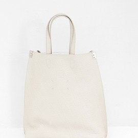 Maison Martin Margiela - Maison Martin Margiela Pebble Leather Tote Bag (Beige)