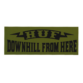 HUF - DOWNHILL (Military Green)