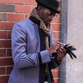 Dandy - Mens Blazer, hat, scarf