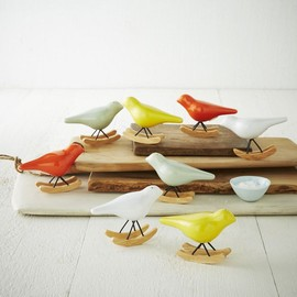 West Elm - Rocking Bird Salt + Pepper Shaker Set
