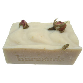 Luulla - Vanilla Rose Soap with Shea Butter and Oatmeal, handmade cold process soap