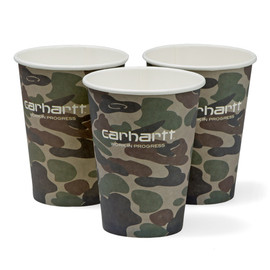 Carhartt WIP - Paper Cups (50 Pack) - Multicolor