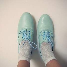 mint oxfords.