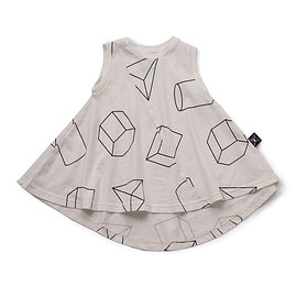 nununu - White Geometric 360 Dress